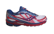 saucony Men's ProGrid Ride 5 red/blue/white